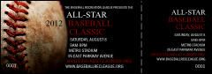 Baseball Stiches Event Ticket