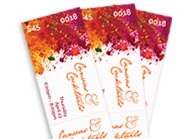 Design Your Own Event Ticket